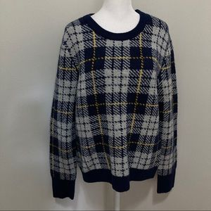 Court & Rowe Whitby Preppy Wool Blend Crew Sweater